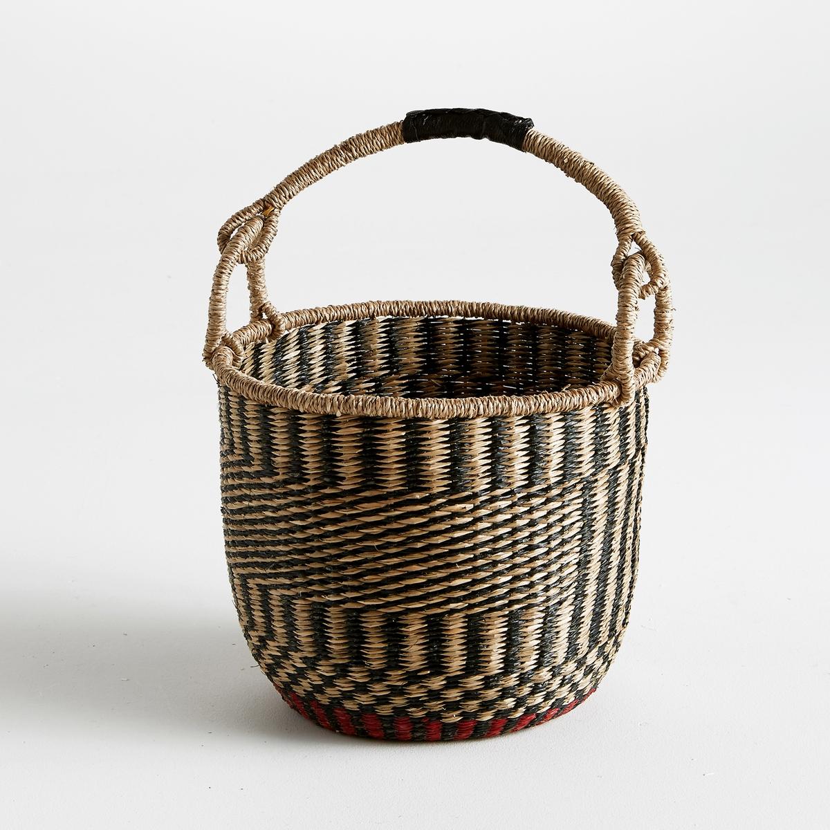 Корзина плетеная с ручкой, В.50 см, Dagyde