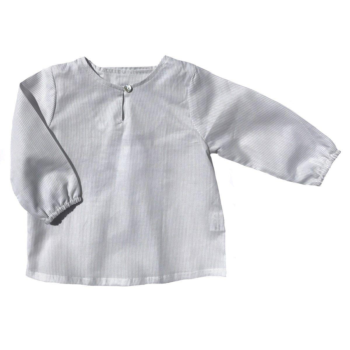 Chemise en coton à rayures BOBBY