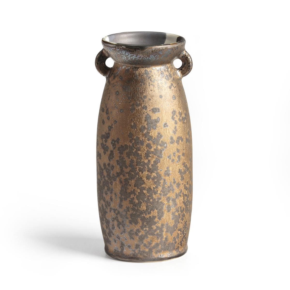 Ваза La Redoute Из керамики В см Tybalt единый размер каштановый тарелка la redoute плоская из керамики sanna единый размер каштановый