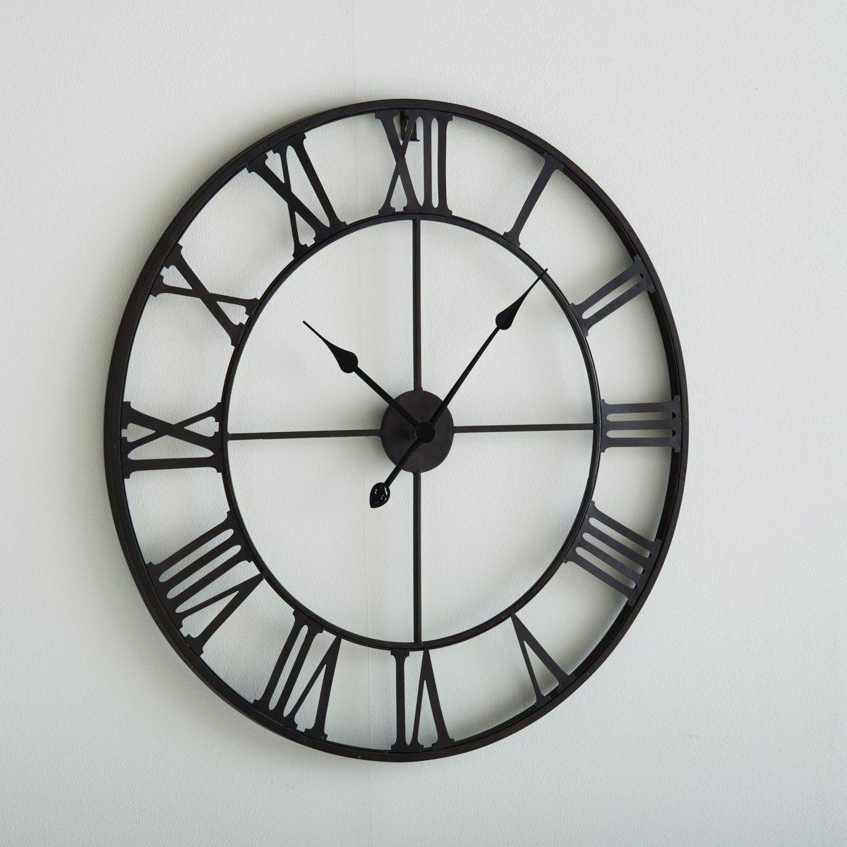 Часы настенные металлические ZivosХарактеристики настенных часов металлических  Zivos :Из металла, покрытого эпоксидной эмалью каштанового цвета, эффект состаренности .Кварцевый механизм .Работают от  1пальчиковой батарейки  AA LR06  1,5V, батарейки доступны для заказа на сайте ..Вся коллекция настенных часов на нашем веб-сайте ..Размеры :Диаметр : 70 см.<br><br>Цвет: каштановый