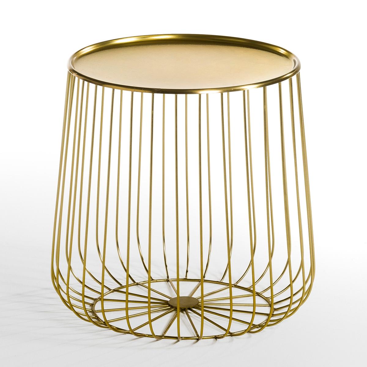 Tavolino filo metallo, Cage