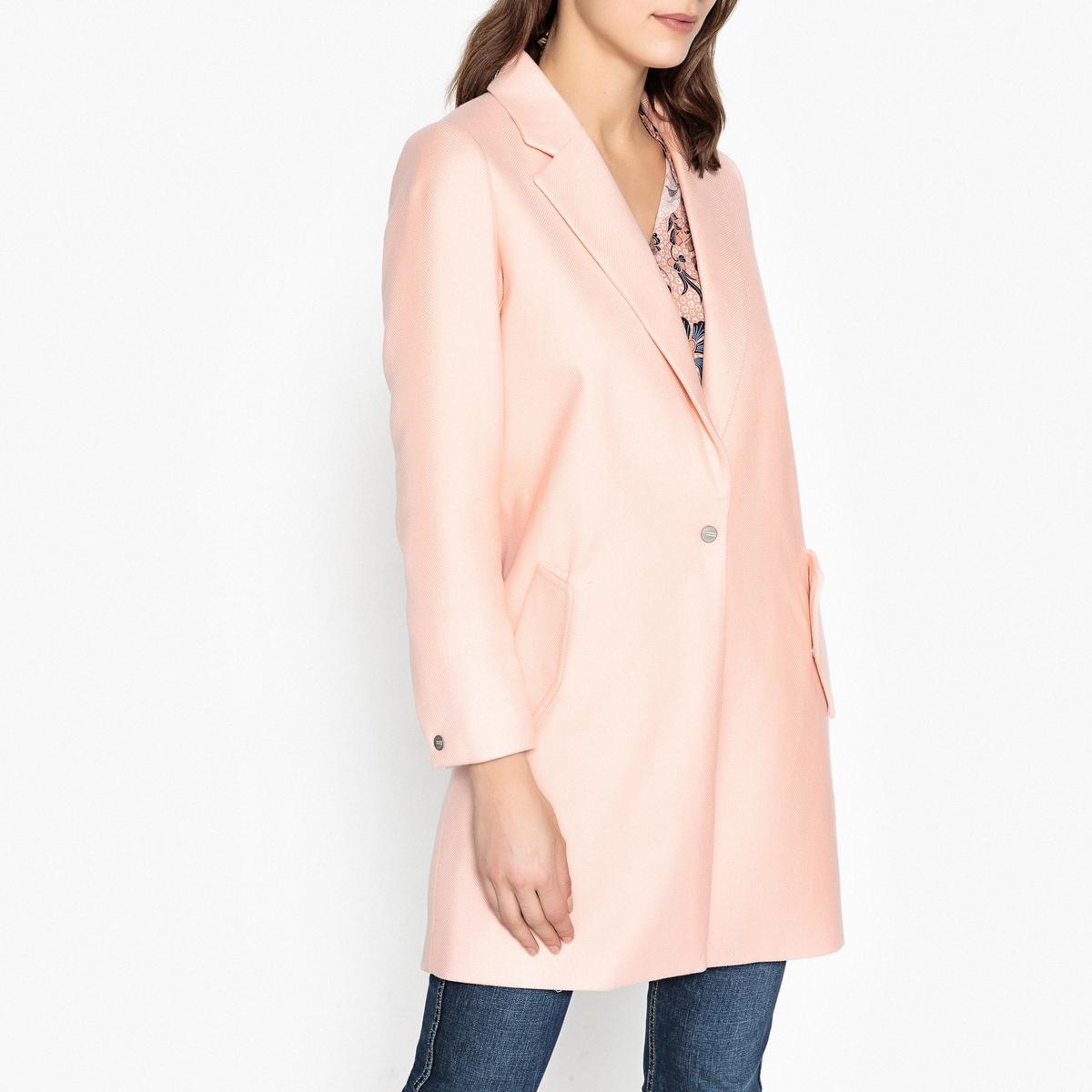 Пальто длинное свободного покроя пальто