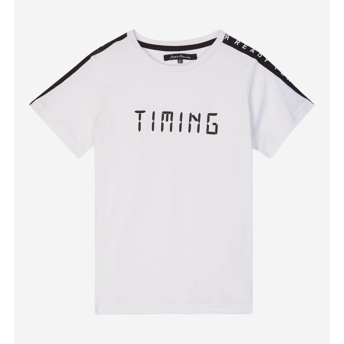 T-shirt Cotape Droit Message Coton