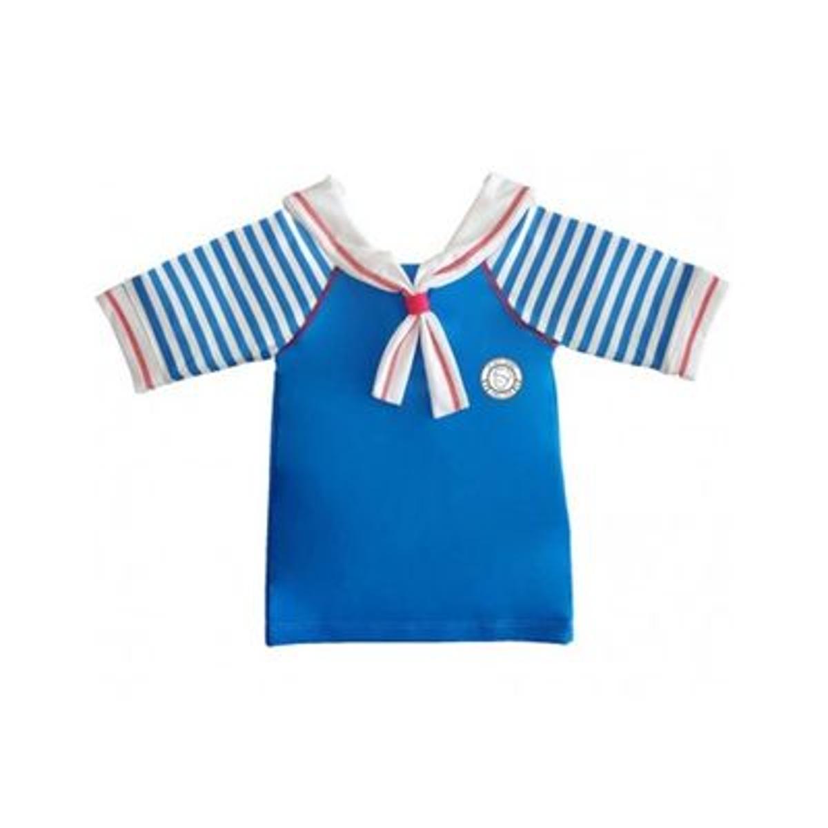T shirt anti uv bébé mixte Le Petit Prince bleu col marin