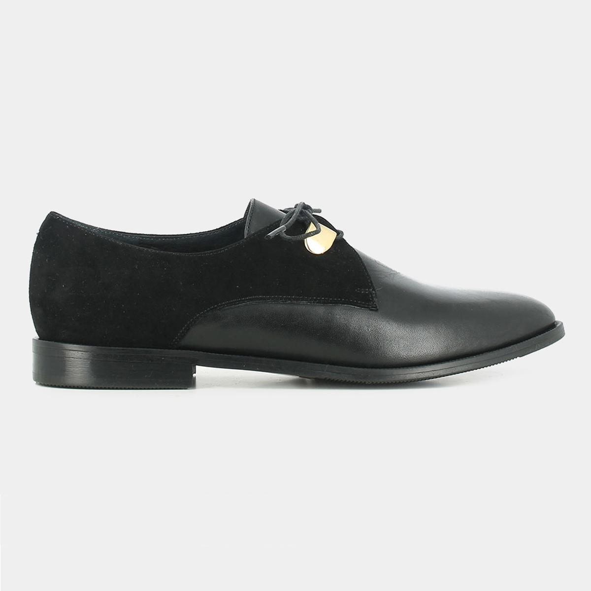 Ботинки-дерби из кожи Divya ботинки дерби из мягкой кожи takarika