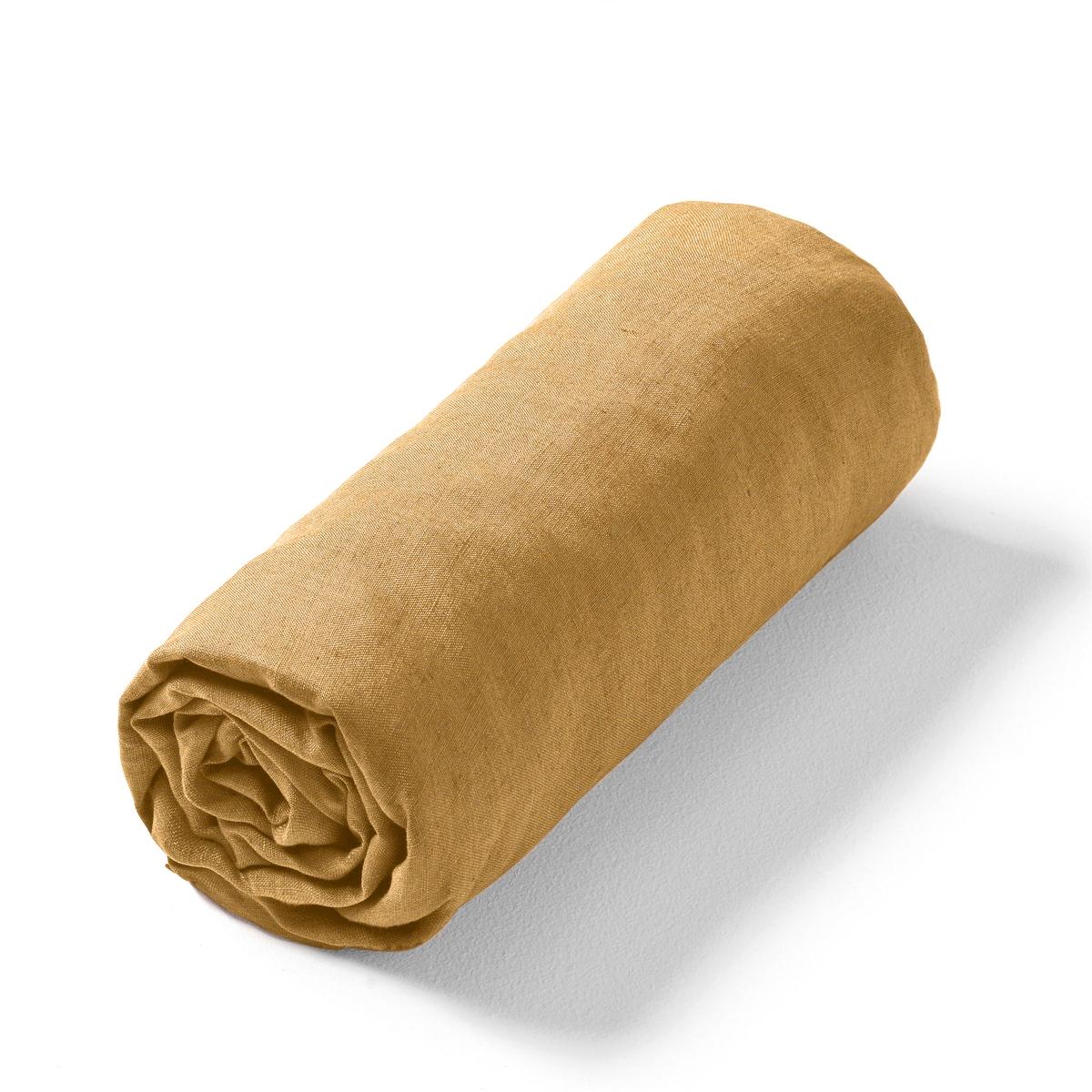 Lençol-capa em linho lavado, Elina