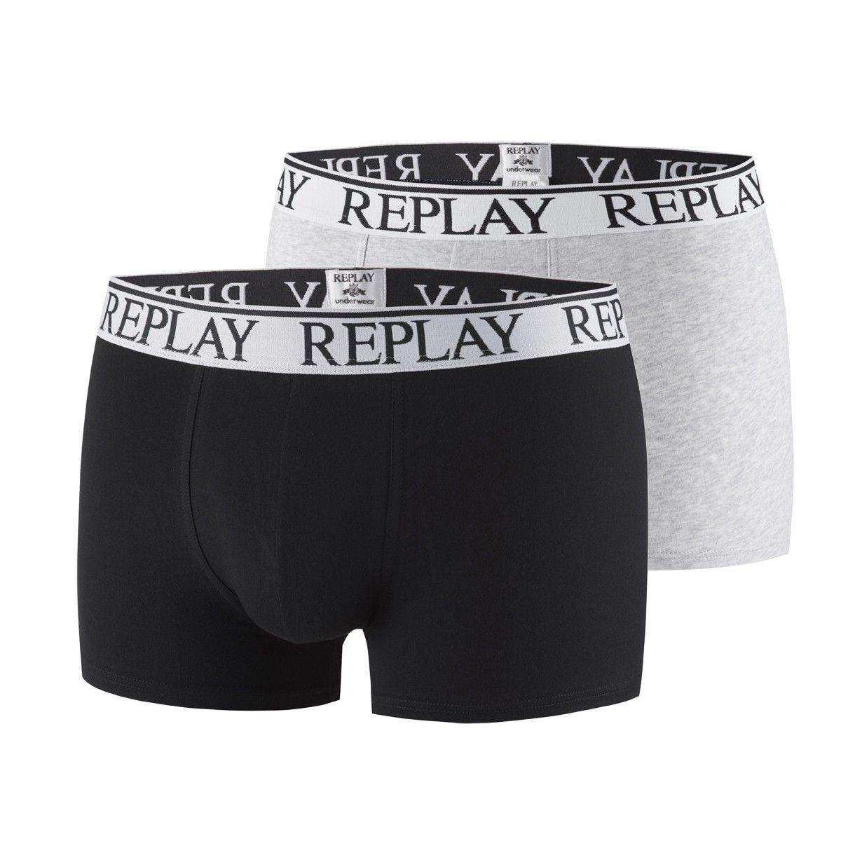 Pack de 2 boxers fashion pour homme Replay