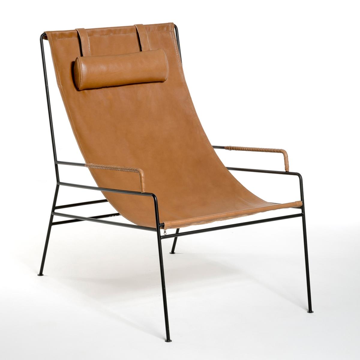 Кресло LaRedoute Celchar 1 местн. каштановый