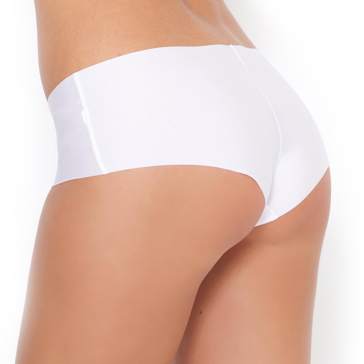 2 трусов-шортов, незаметные под одеждой2 трусов-шортов, незаметные под одеждой. Невидимые швы : совершенно не заметны под одеждой . Ластовица на подкладке из хлопка. Мягкий эластичный трикотаж 86% полиамида, 14% эластана . Комплект из 2 трусов-шортов.<br><br>Цвет: белый,телесный,черный<br>Размер: 46/48 (FR) - 52/54 (RUS).42/44 (FR) - 48/50 (RUS).38/40 (FR) - 44/46 (RUS).34/36 (FR) - 40/42 (RUS).34/36 (FR) - 40/42 (RUS)