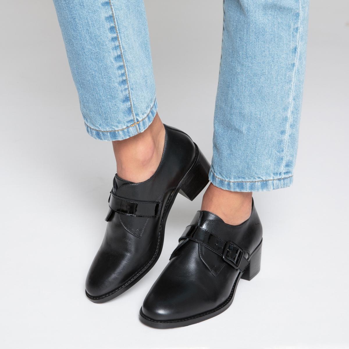 Ботинки-дерби с пряжкой