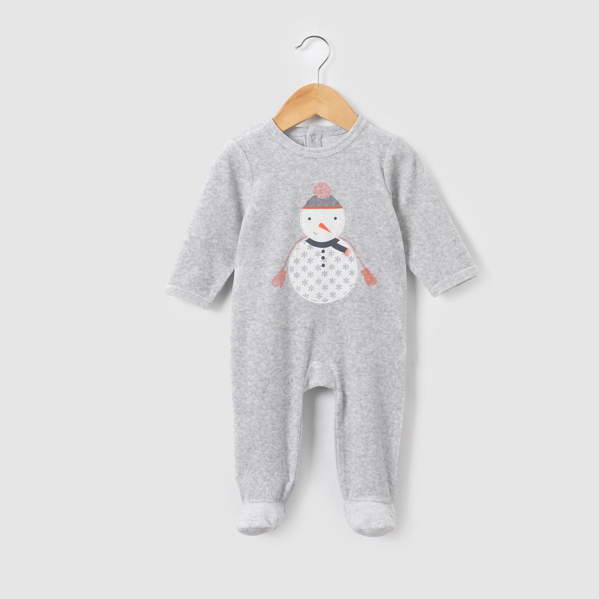 Пижама велюровая Noel 0 мес-3 лет