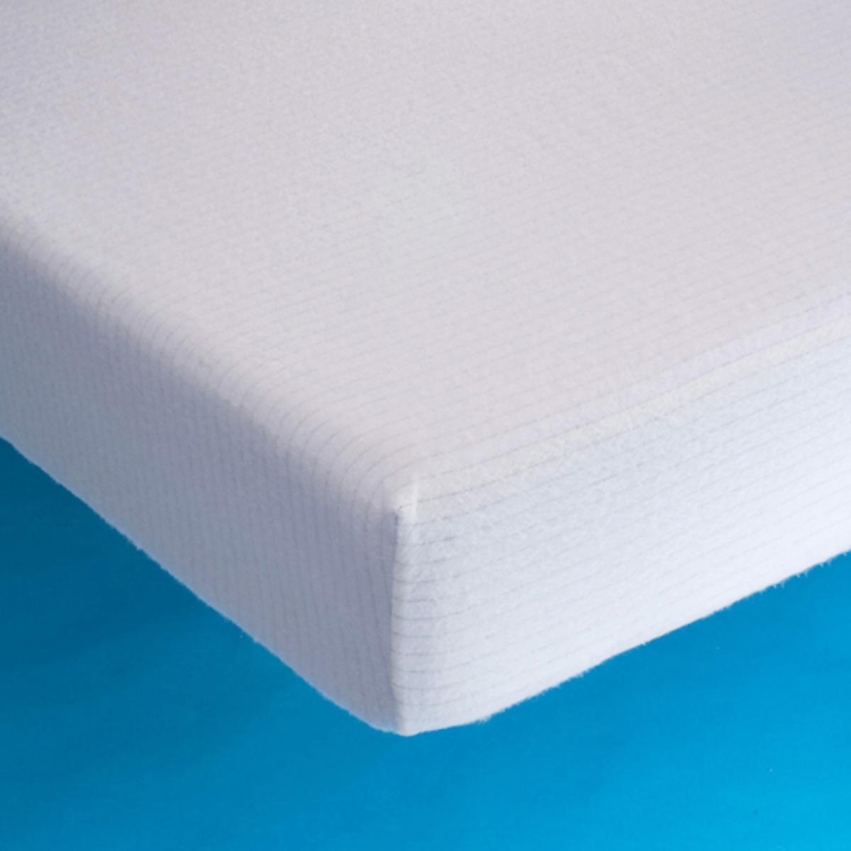 Защитный La Redoute Чехол для матраса из мольтона 60 x 120 см белый чехол
