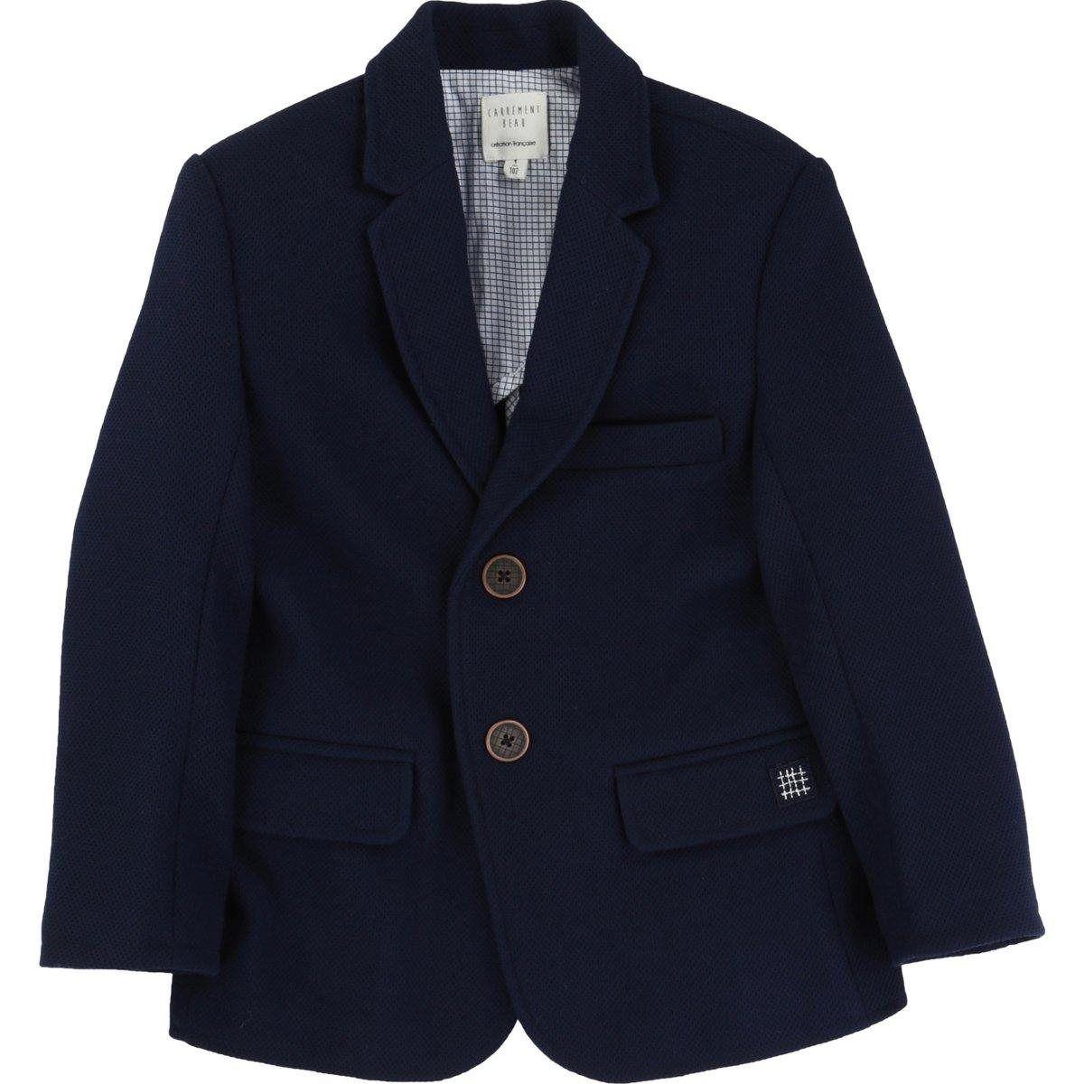 Veste de costume doublée carreaux