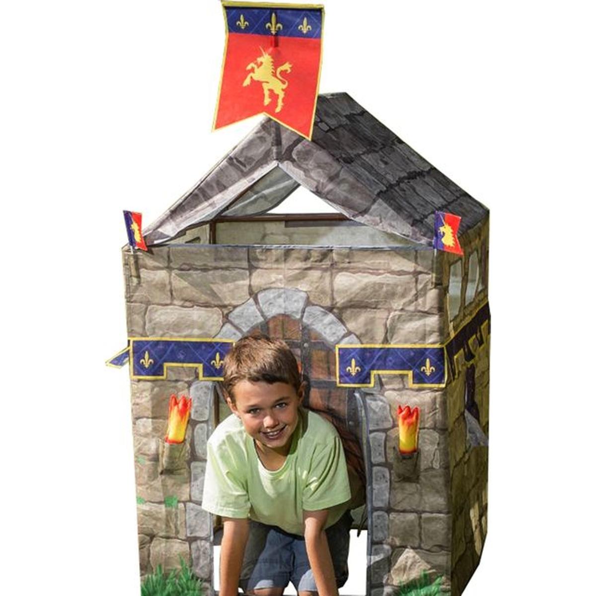 Tente de jeu Chevalier avec accessoires