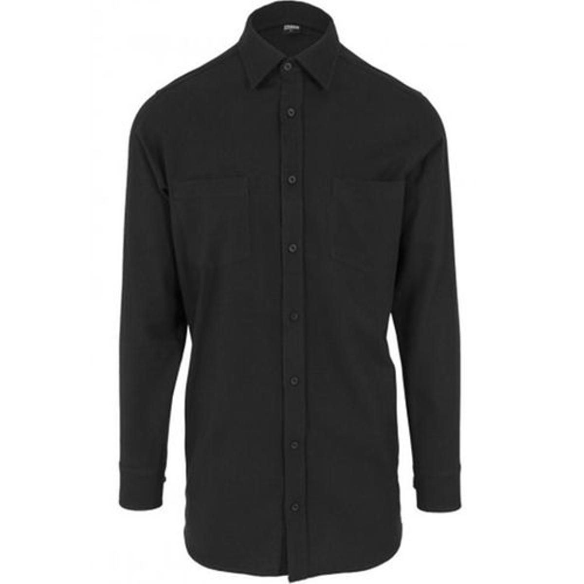 Chemise longue avec zip latéral