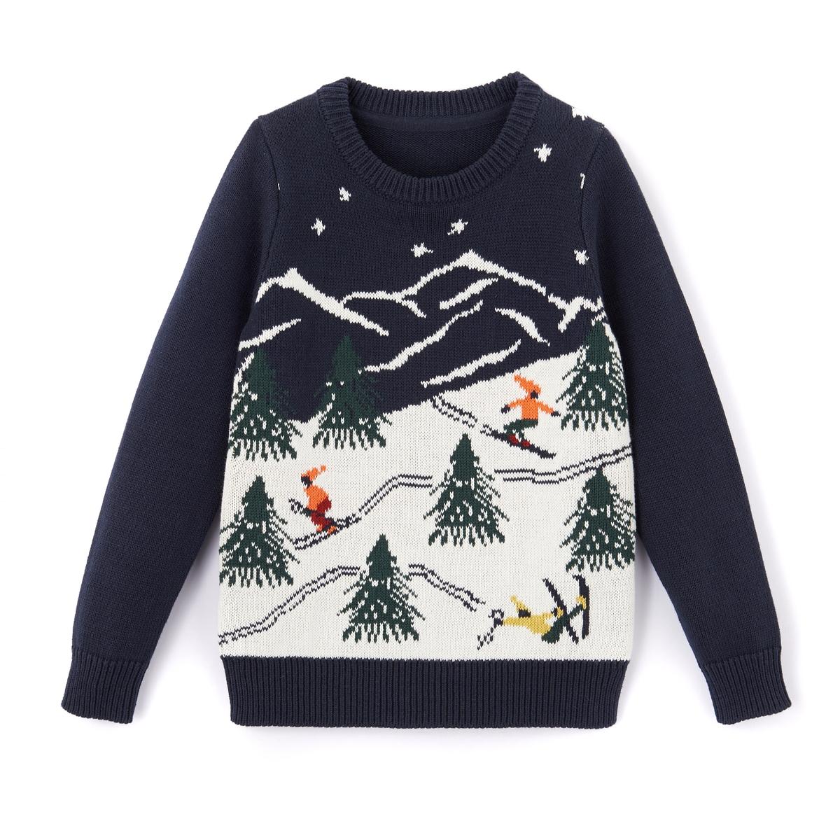 Пуловер 3-12 лет