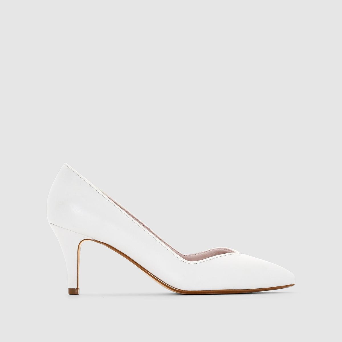 Туфли кожаные от MADEMOISELLE R