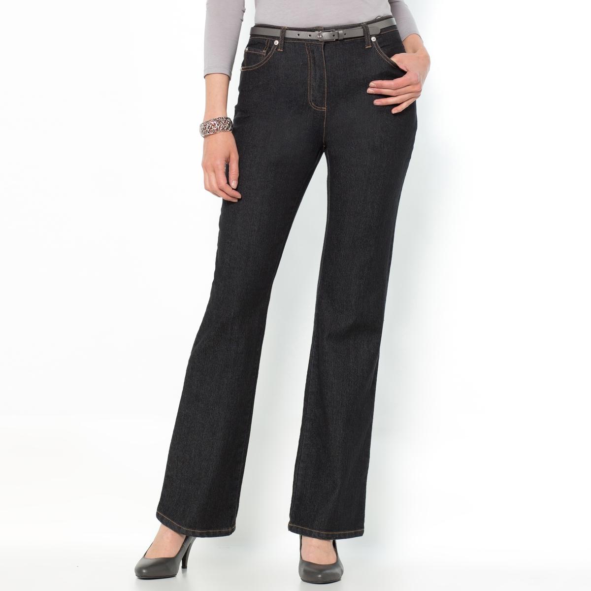 Джинсы расклешенного покроя из денима стретч джинсы расклешенного покроя из денима стретч