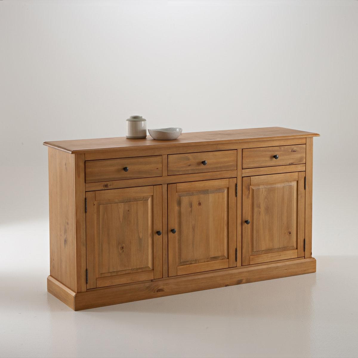 Шкаф-буфет La Redoute Из массива сосны Authentic Style единый размер бежевый m style буфет prinz