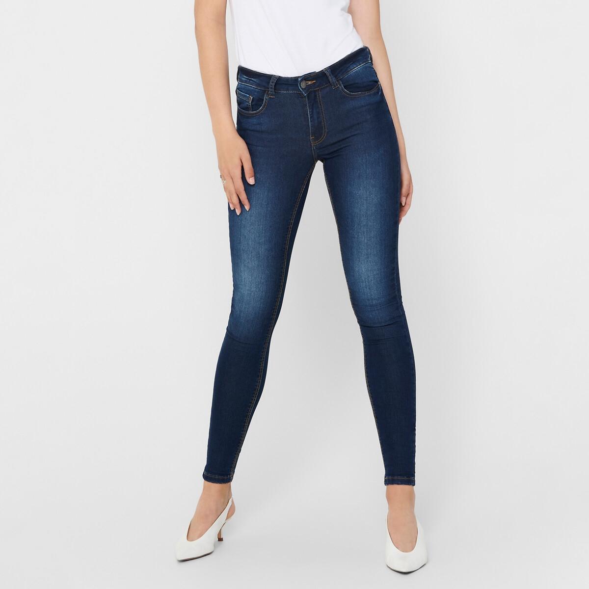 Фото - Джинсы LaRedoute Скинни длина 30 L синий джинсы laredoute скинни длина 30 s черный