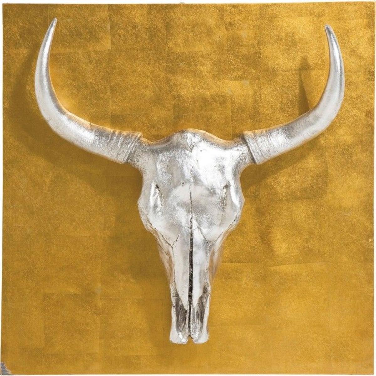Décoration murale Bison 80x80 cm Kare Design