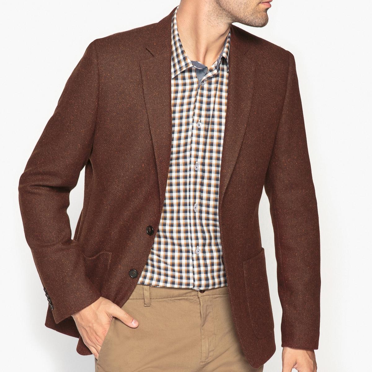 Пиджак костюмный покроя слим
