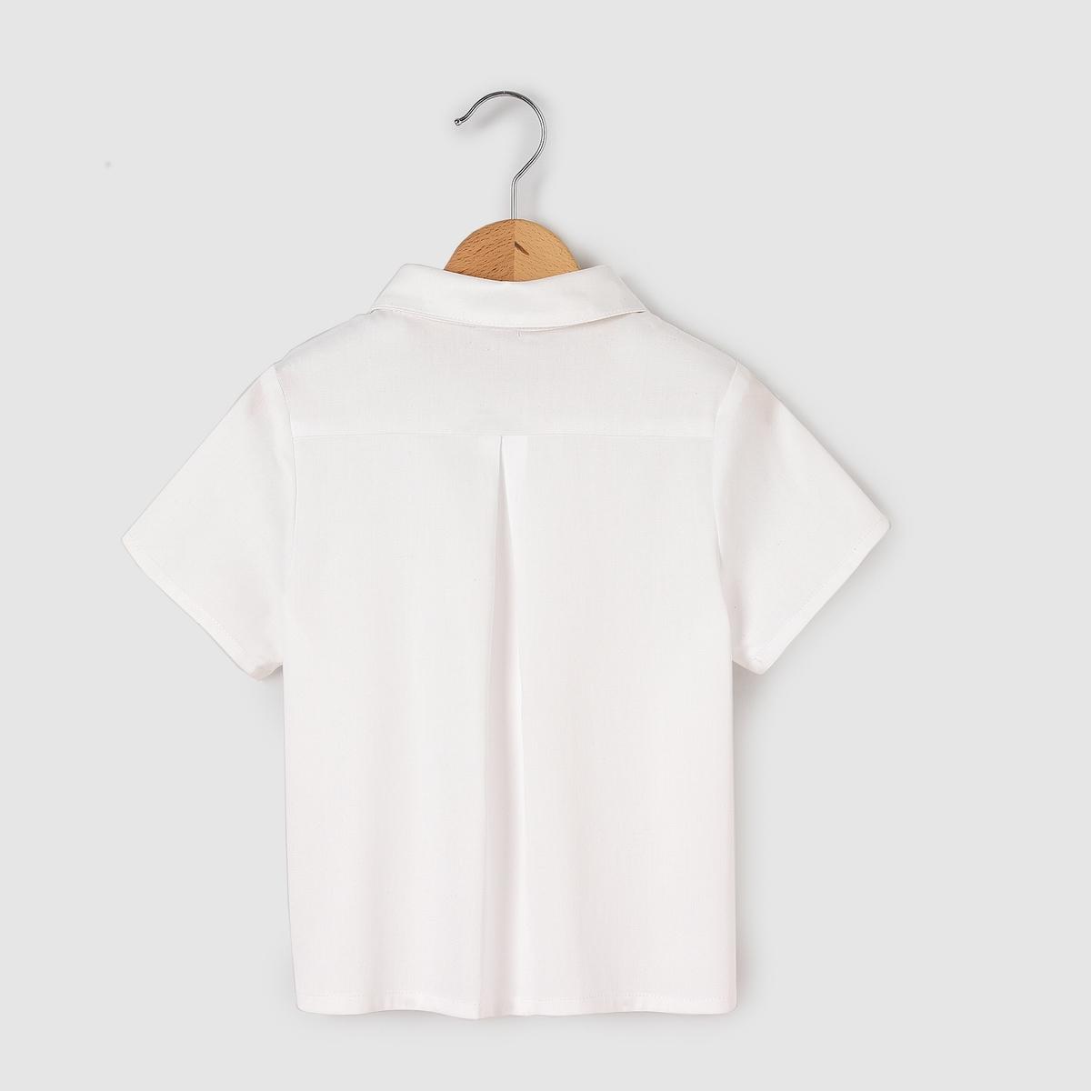 Рубашка с короткими рукавами для 3-12 лет