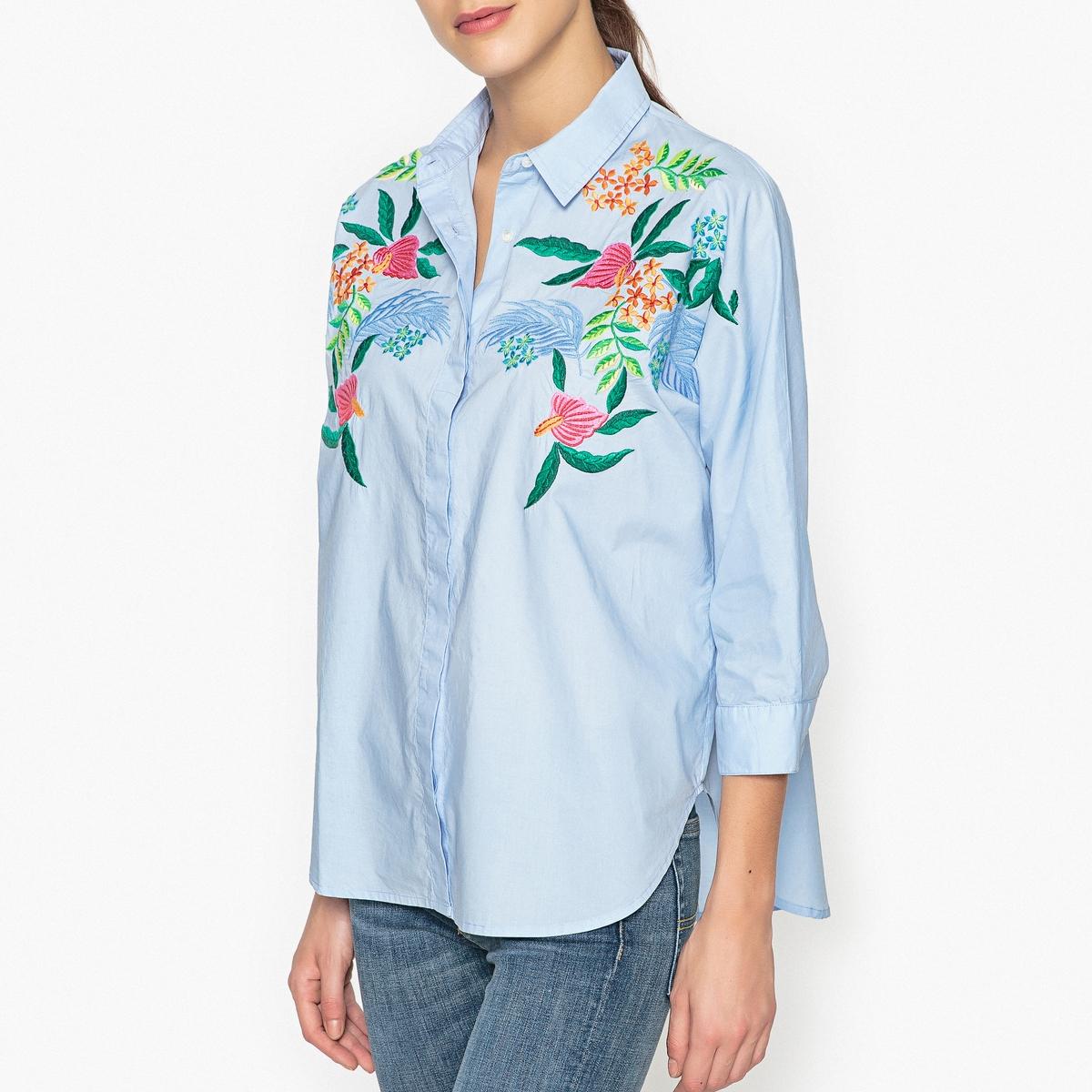 Рубашка с вышивкой OXLEYEMBO