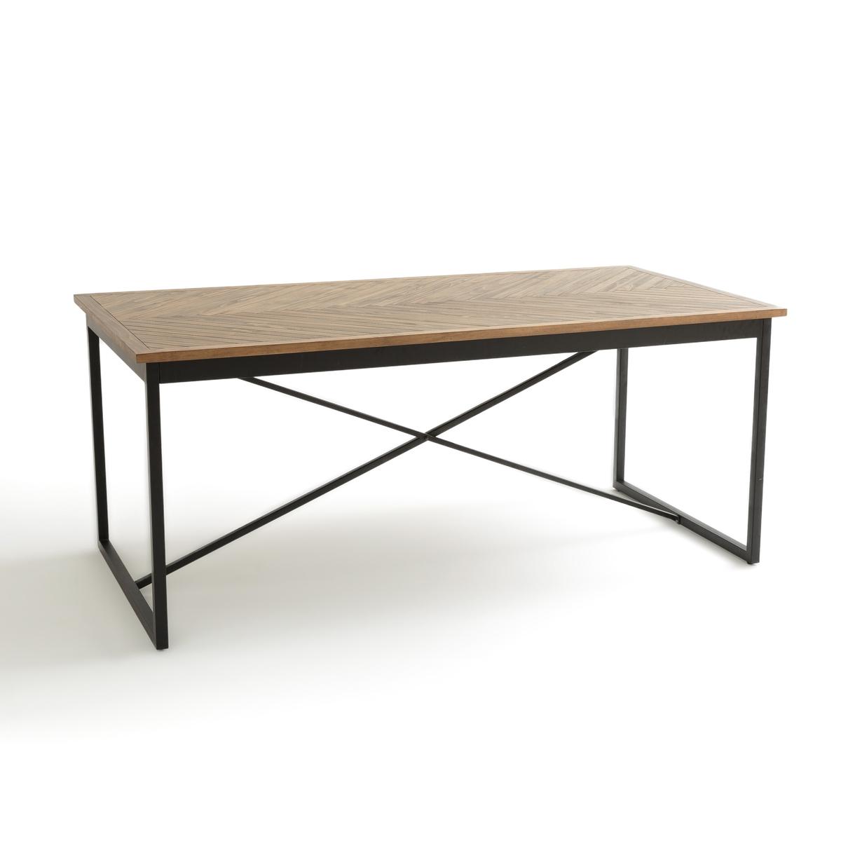 Стол на 6 персон NOTTINGHAM столик из металла и дерева h высота 60 см nottingham