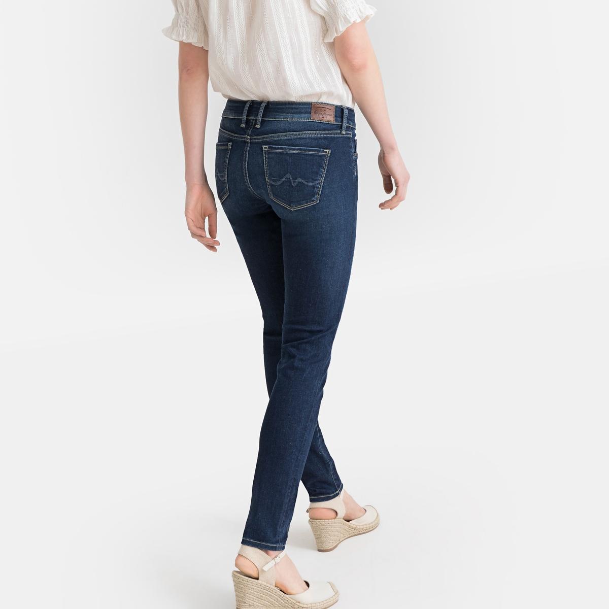 Фото - Джинсы LaRedoute Скинни Soho 25/32 синий джинсы laredoute скинни длина 30 s черный