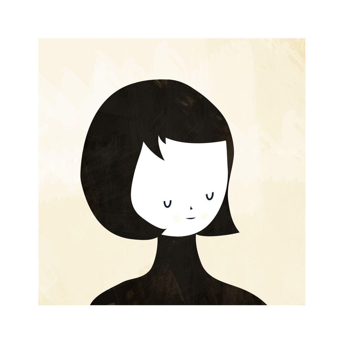 Affiche Pensée Blanca Gomez