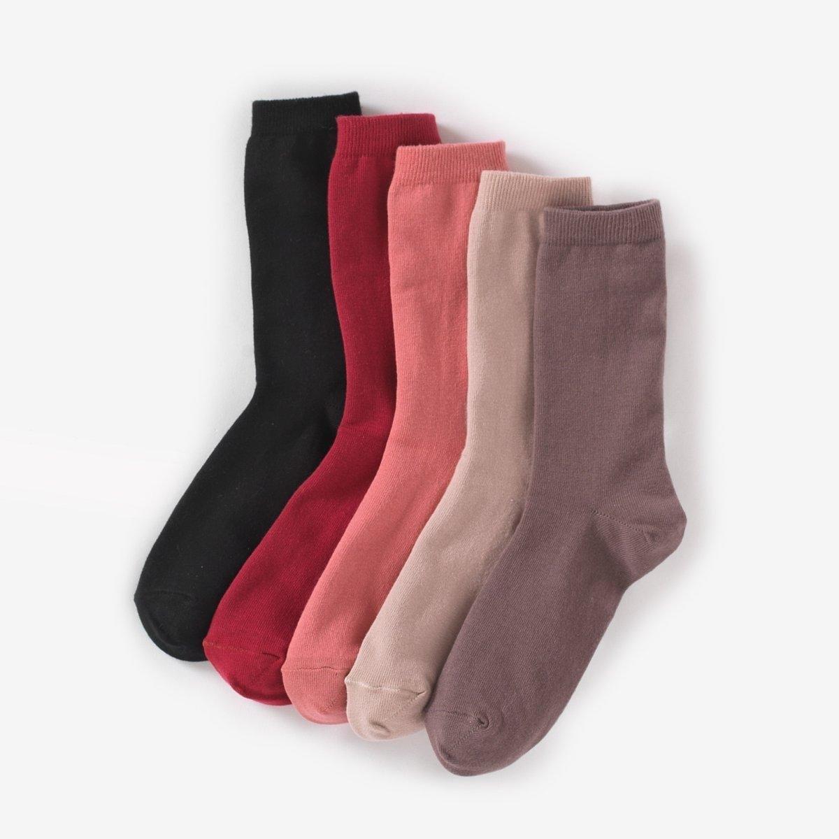 5 пар носков75% хлопка, 25% полиамида.<br><br>Цвет: розовый+ярк.розовый+малин.+серый+черный<br>Размер: 38/41