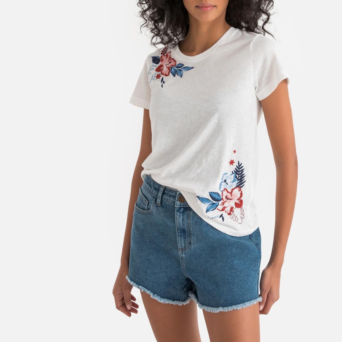 Imagen principal de producto de Camiseta estampada con cuello redondo Dhalia - Pepe Jeans