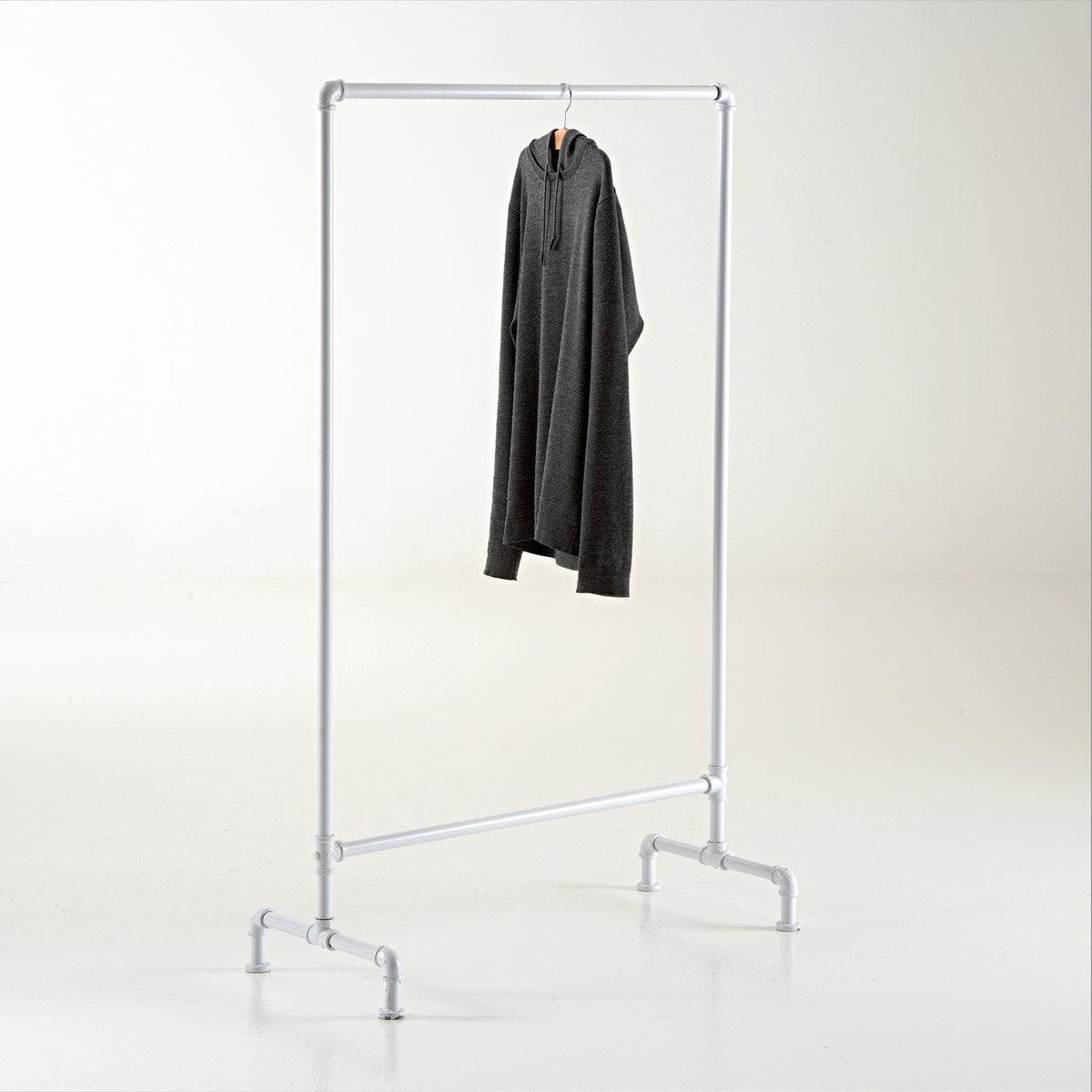 Вешалка в стиле хай-тэкХарактеристики вешалки:1 перекладина.Металлические подвесы.Размеры вешкалки:Ширина: 92,5 смВысота: 151,2 см Глубина: 42,5 см.<br><br>Цвет: белый