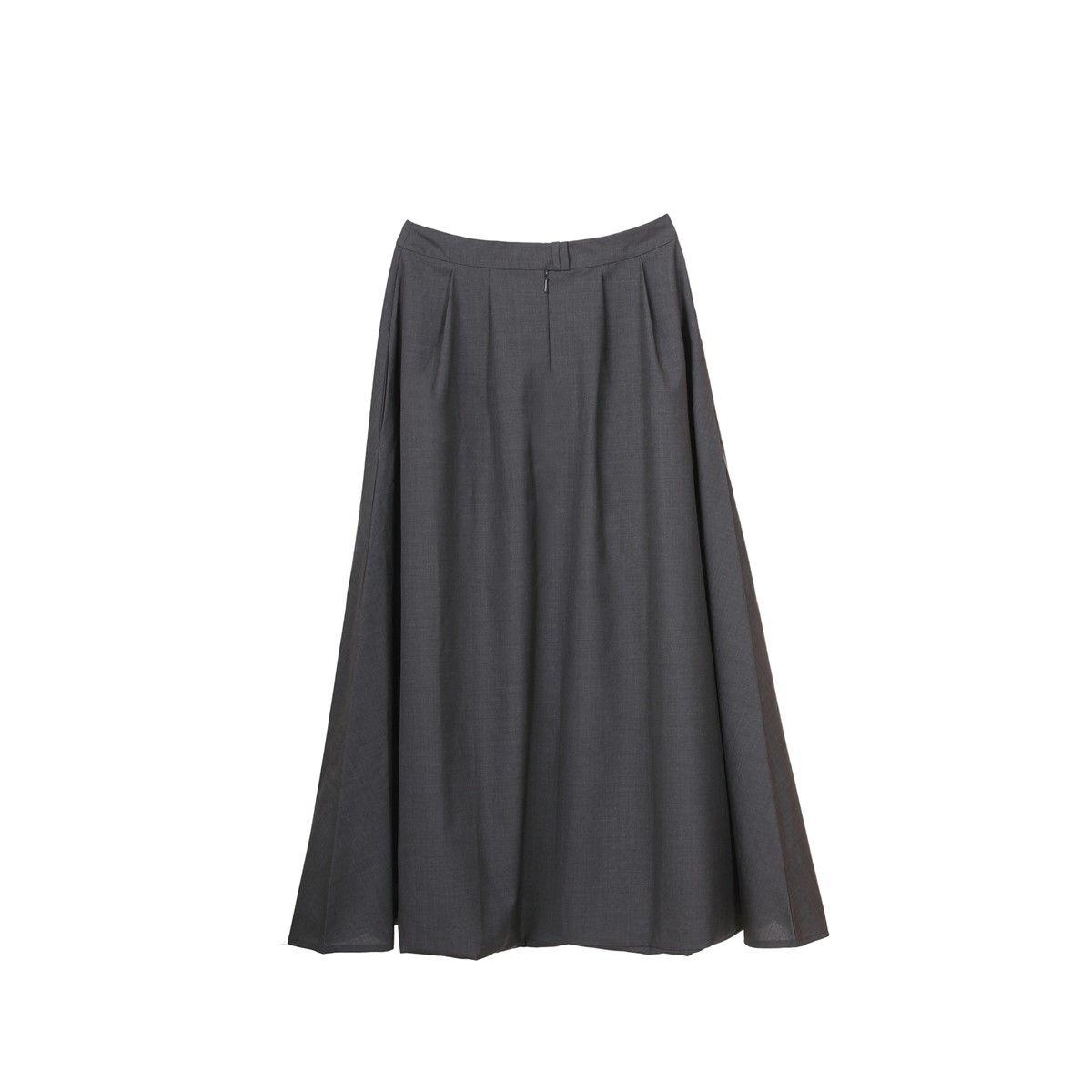 Pantalon en laine mélangée street style décontracté chic design très féminin