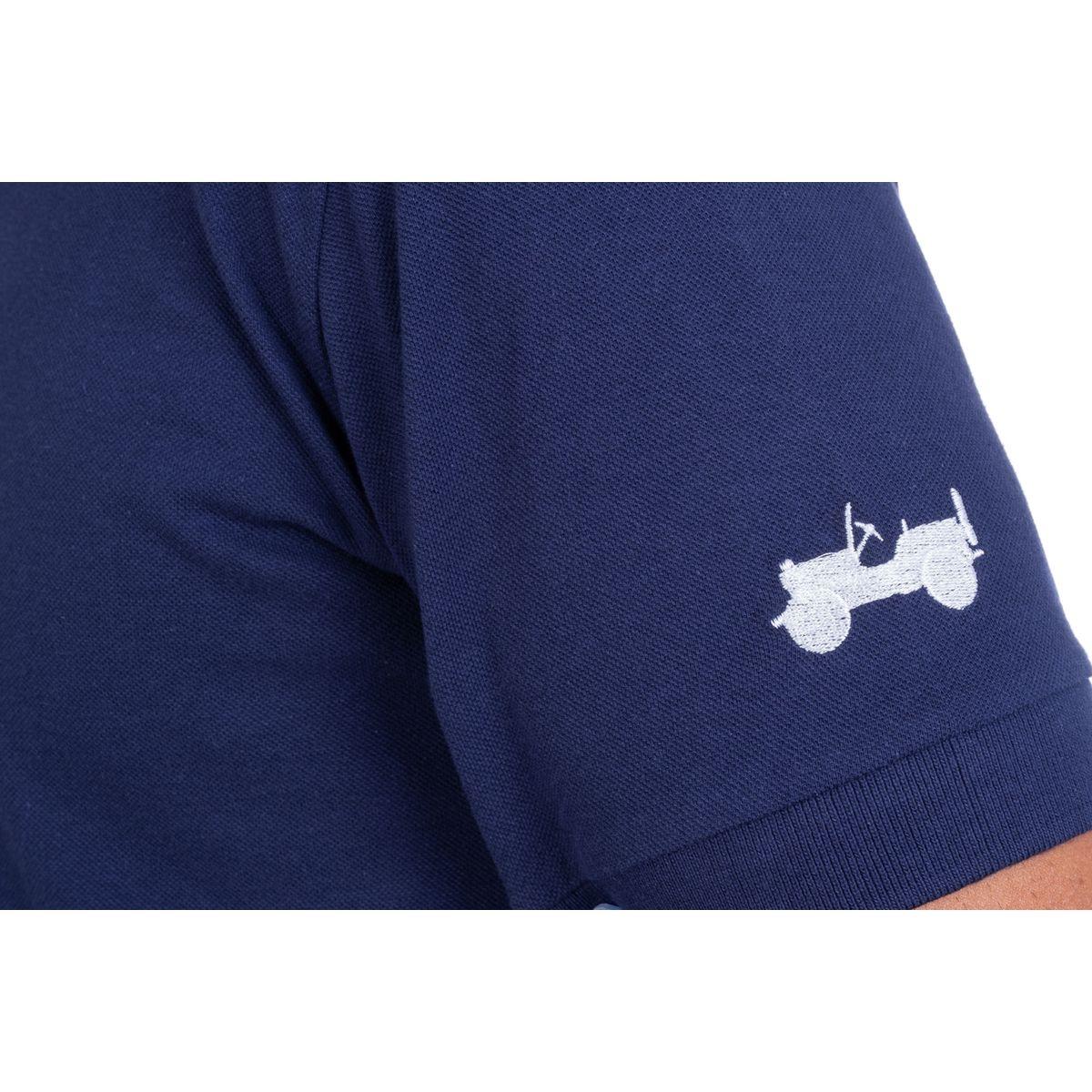 Polo avec broderie « willys de profil » j20s
