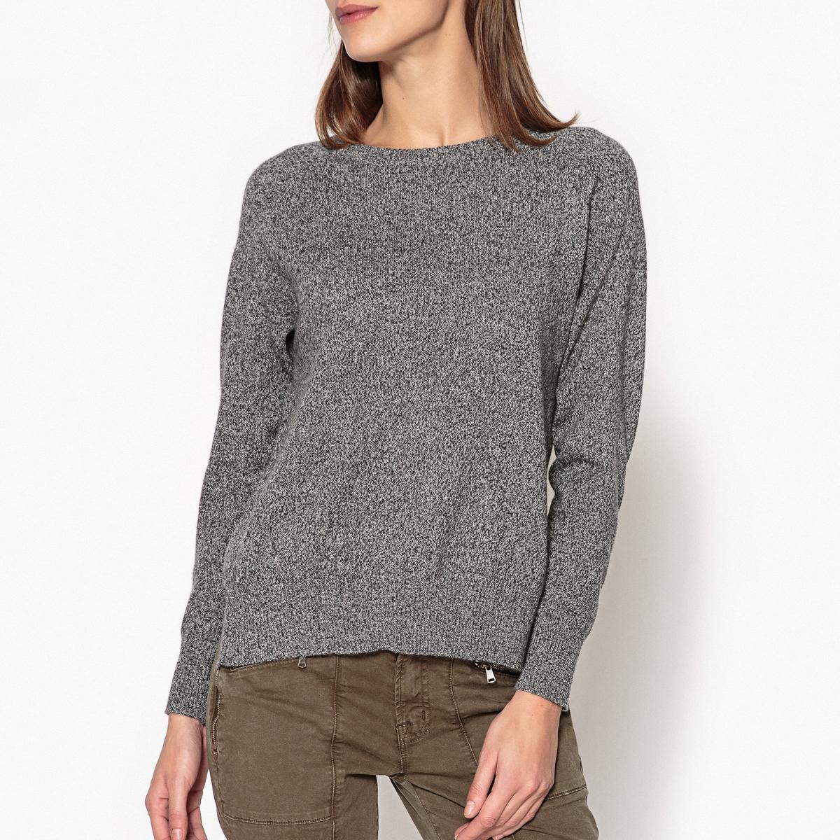 Пуловер из кашемира с круглым вырезом LOU, тонкий трикотаж