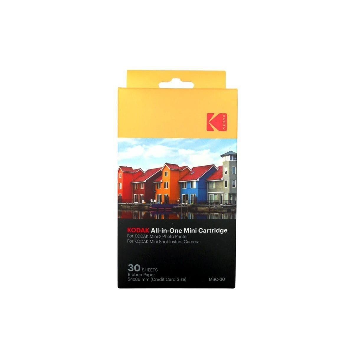 Papier photo instantané KODAK 30 feuilles Mini Shot et Mobile Print 2
