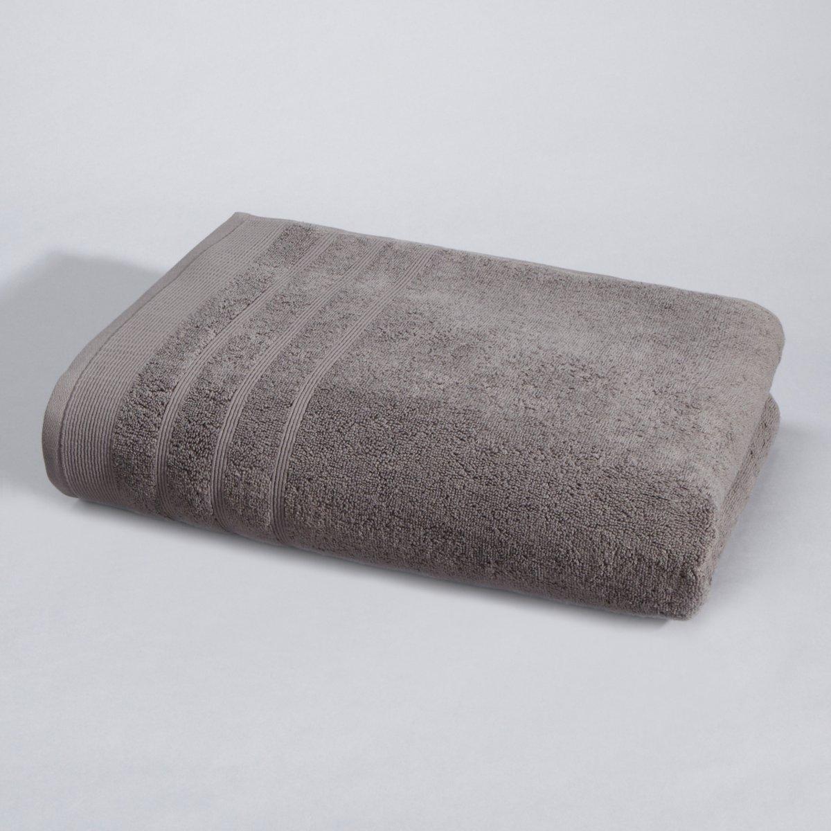 Полотенце La Redoute Банное гм Качество Best 100 x 150 см серый