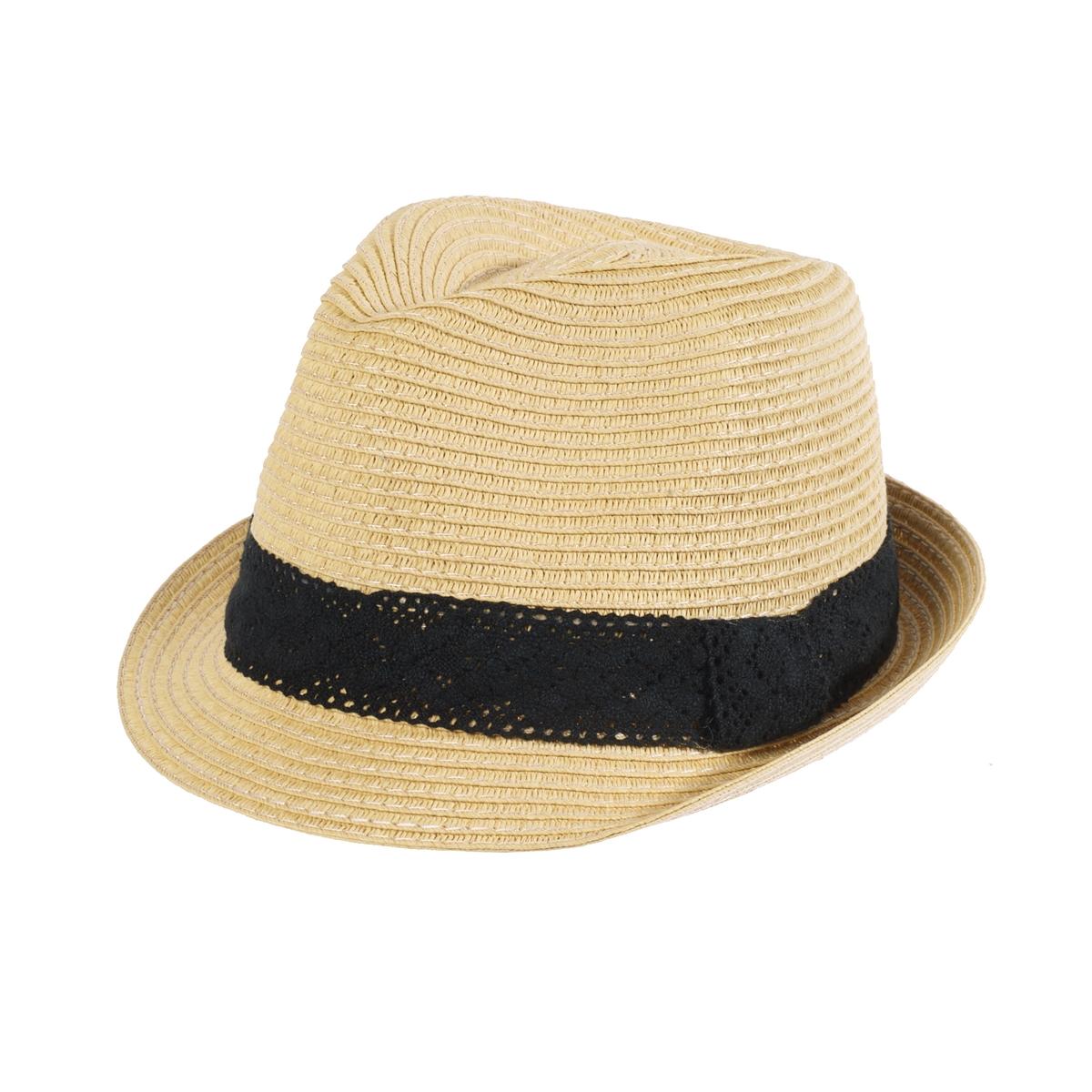 Шляпа из соломыОписание:Соломенная шляпа модной формы, с отделкой кружевной лентой для большей изысканности . Состав и описание :Материал верха  : искусственная солома Обхват головы : 56 см отделка кружевным галуномРегулируемая эластичная вставка<br><br>Цвет: серо-бежевый<br>Размер: единый размер