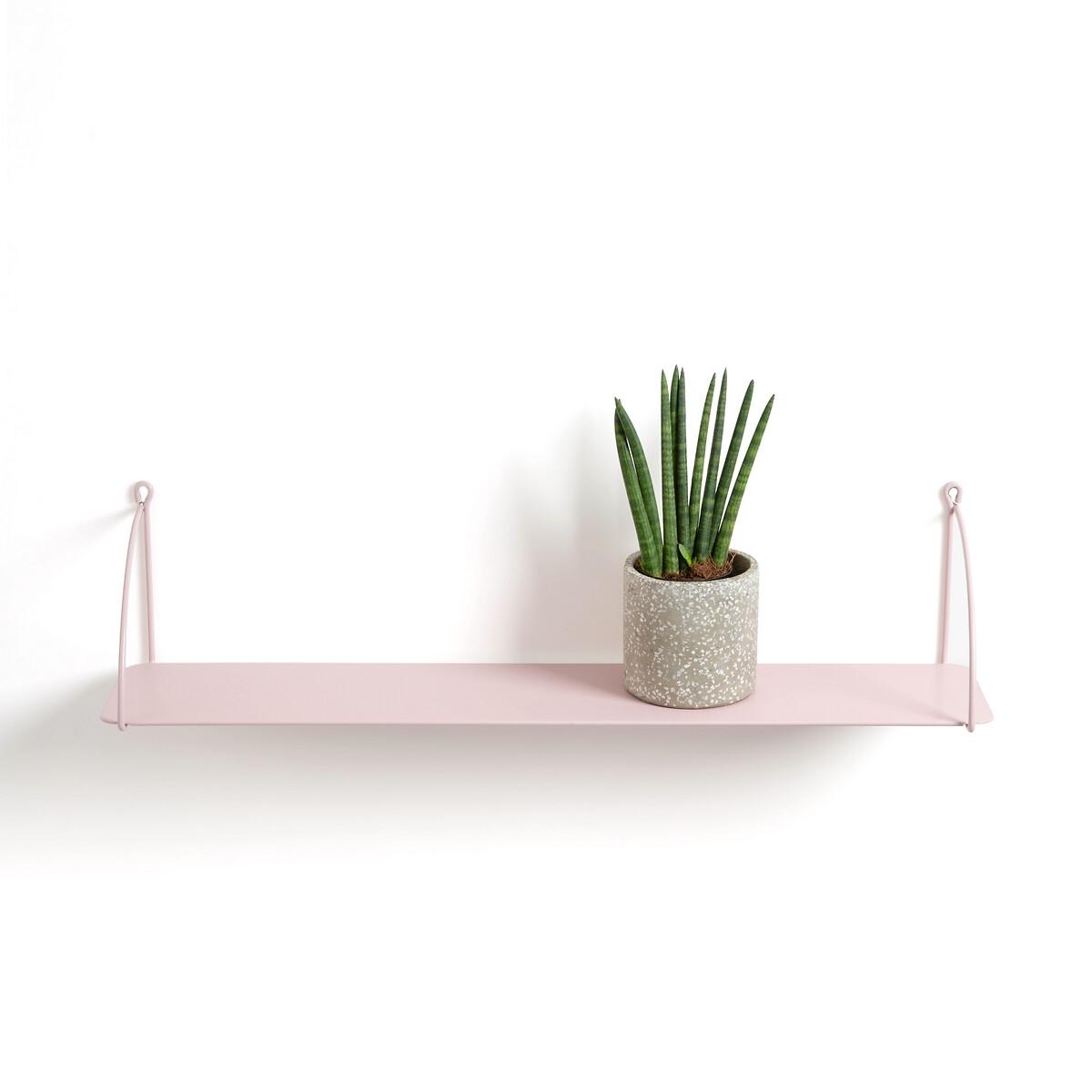 Полка LaRedoute Из металла Hiba единый размер розовый плед laredoute из рифленого флиса puntos единый размер розовый