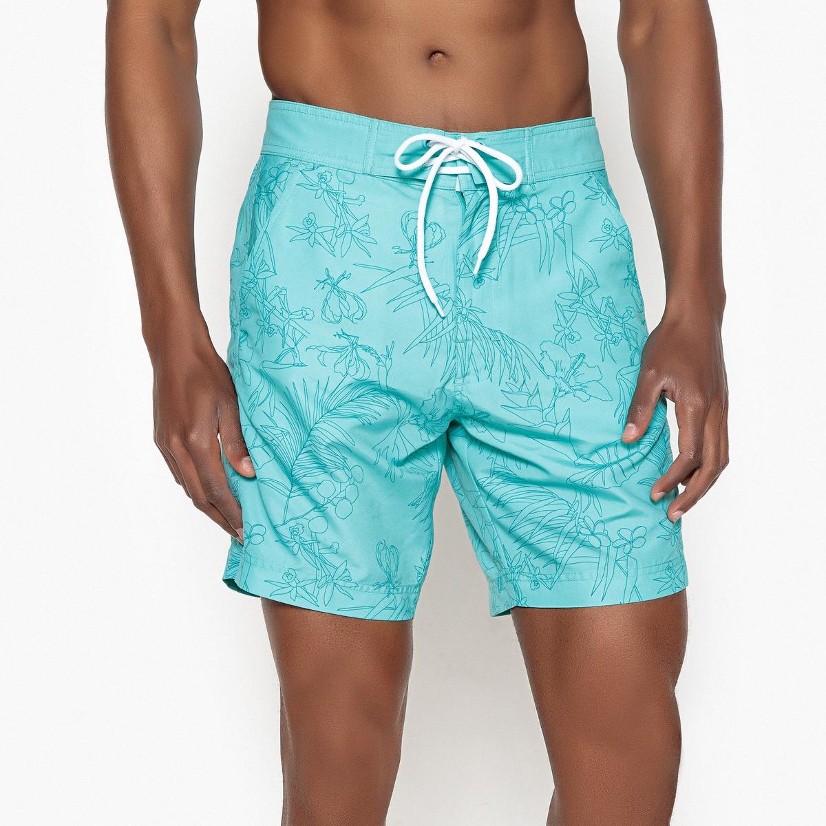 Шорты-плавки с цветочным рисунком Hawaï плавки шорты charmante плавки шорты