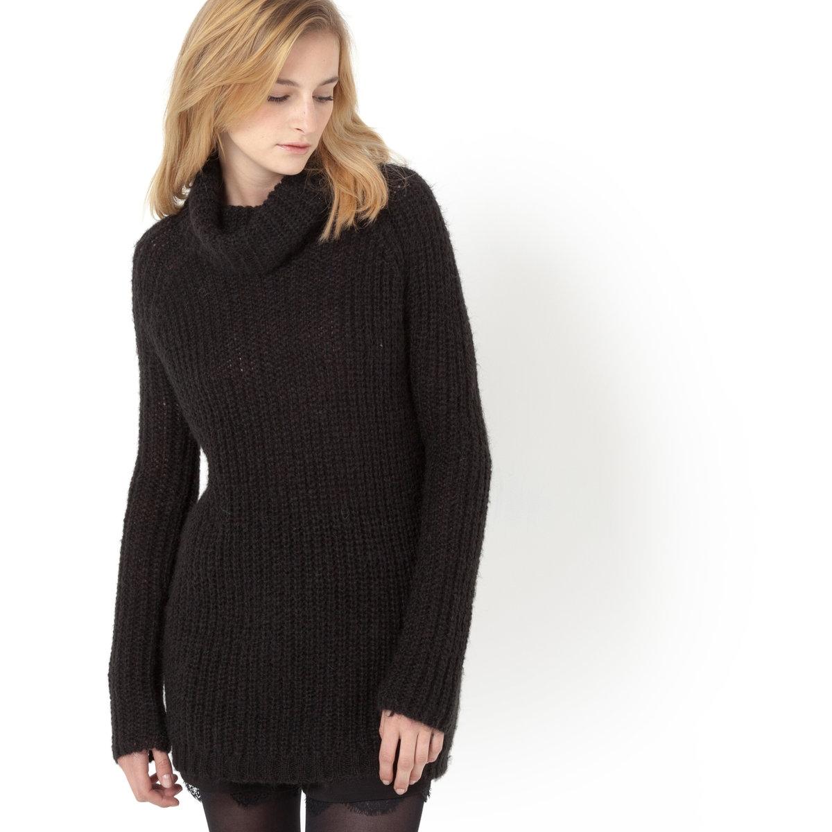 Фото Пуловер с высоким воротником. Купить с доставкой