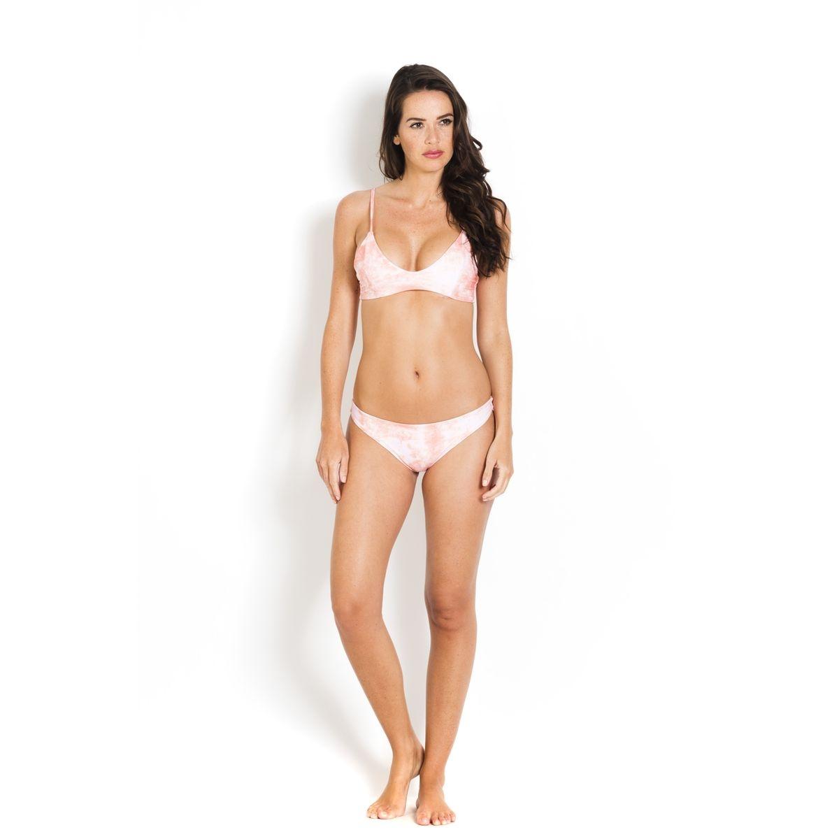 Bas de Bikini Chiara  Coral Dust/Limoncello