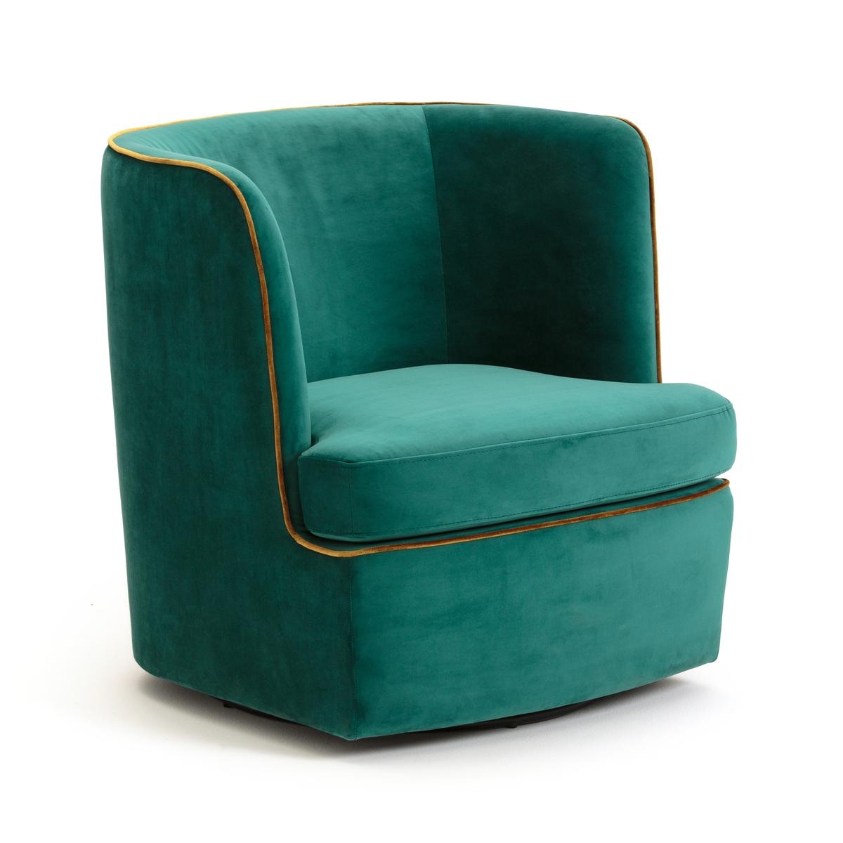 Кресло велюровое LUXORE вращающееся