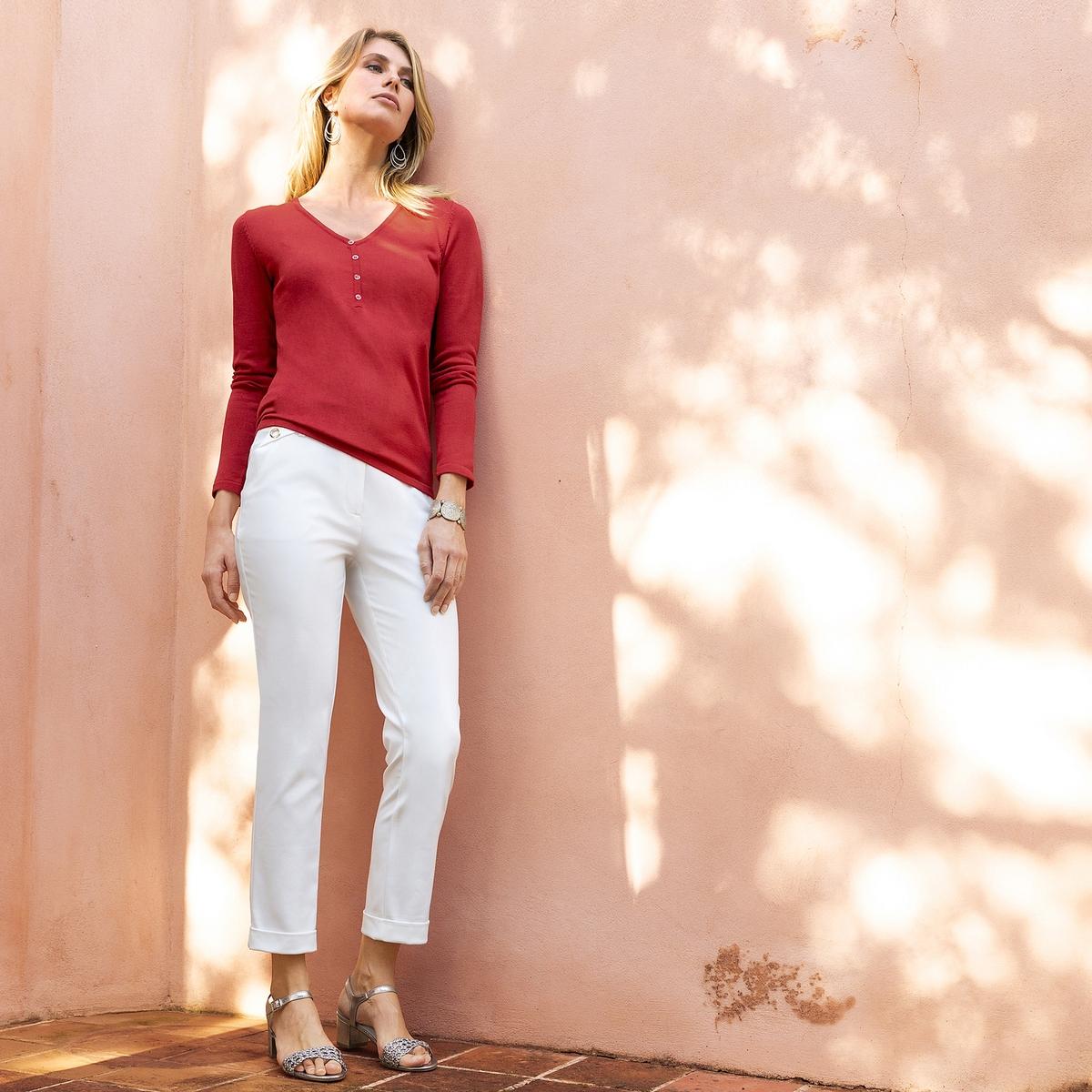 Imagen principal de producto de Pantalón recto con bolsillos fantasía - Anne weyburn