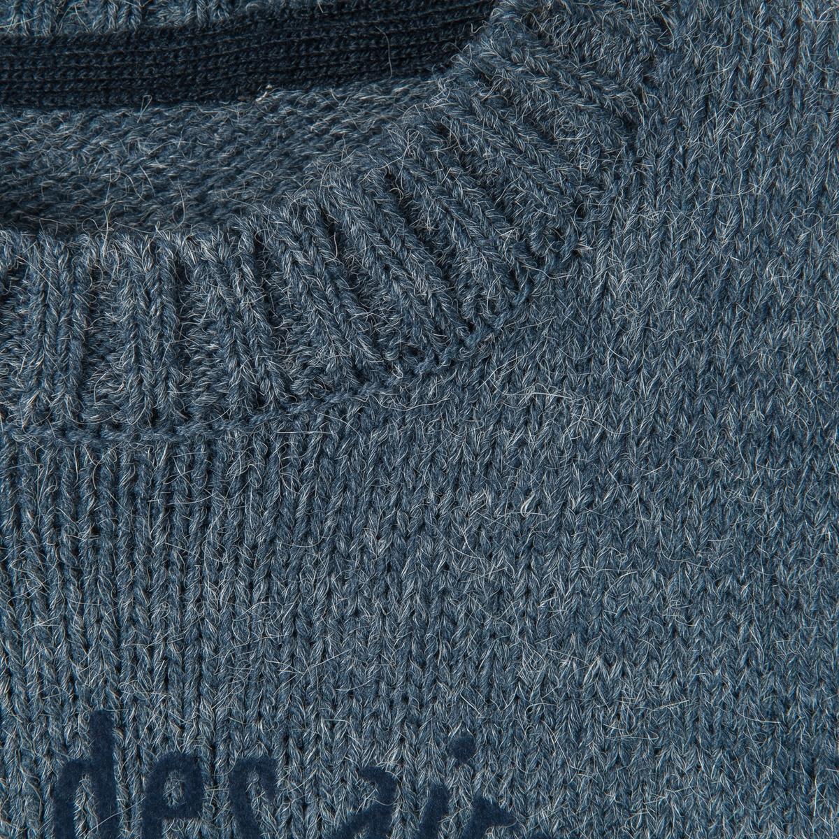 Пуловер теплый с рисунком самолет 3-12 летПуловер с длинными рукавами и рисунком самолет спереди. Круглый вырез. Края связаны в рубчик. Состав и описание :Материал: вязаный трикотаж, 80% акрила, 15% полиамида, 5% альпаки.Марка      abcdRУход: :Машинная стирка при 30°C с одеждой подобных цветов.Гладить с изнаночной стороны.Машинная сушка запрещена.Гладить при умеренной температуре.<br><br>Цвет: серый меланж,синий меланж