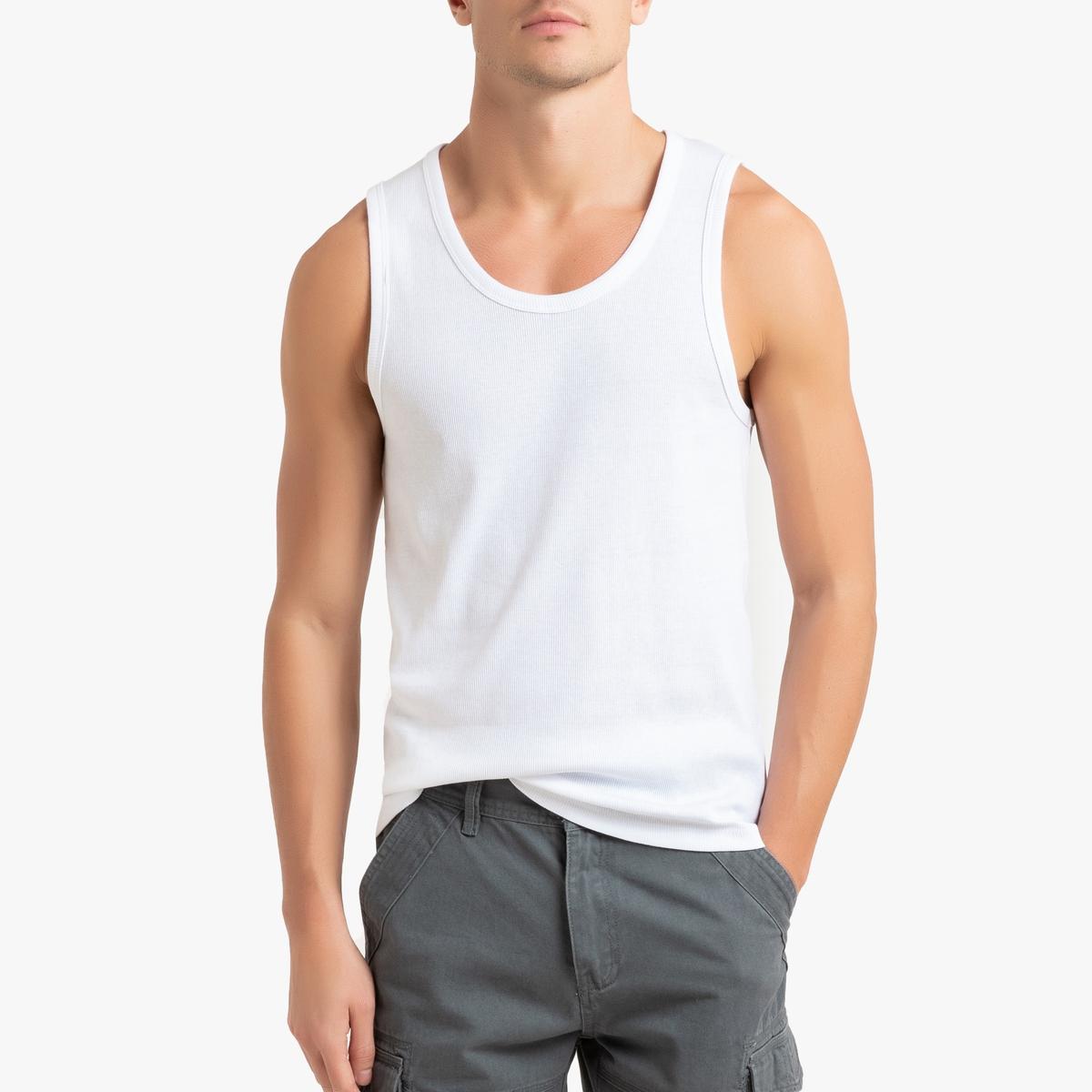 Camiseta sin mangas de canalé, Théo