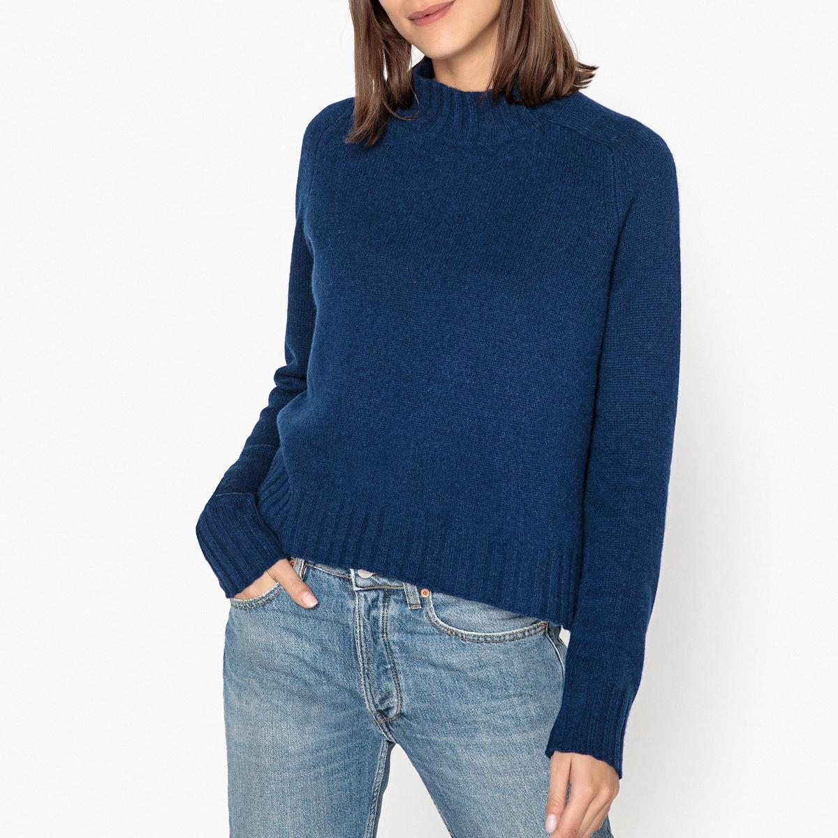 Пуловер кашемировый с воротником-стойкой женский пуловер brand new 2015