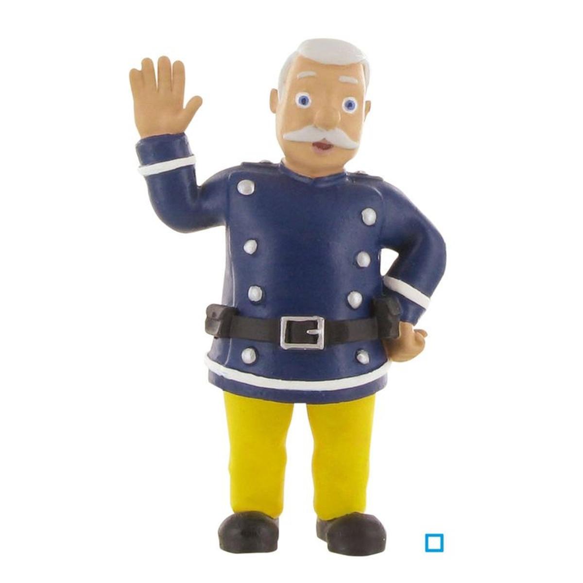 Figurine Commandant Steele - Sam Le Pompier - 8 cm - JURBC99955